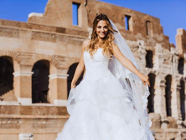 Il matrimonio di Alessio e Pamela a Roma, Roma 27