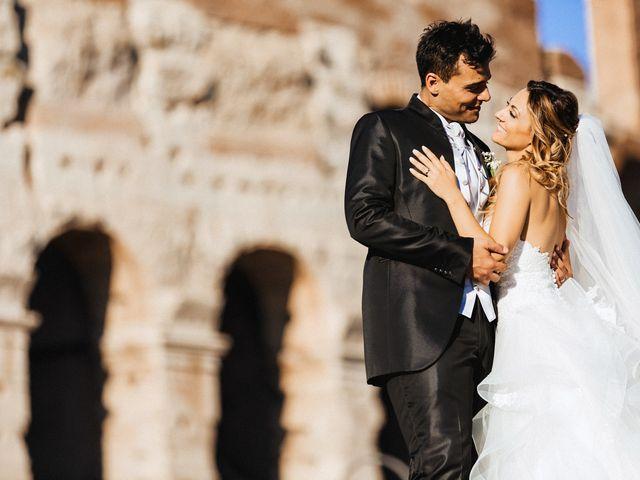 Il matrimonio di Alessio e Pamela a Roma, Roma 87