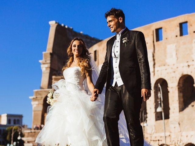 Il matrimonio di Alessio e Pamela a Roma, Roma 90