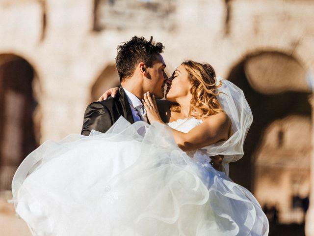 Il matrimonio di Alessio e Pamela a Roma, Roma 91