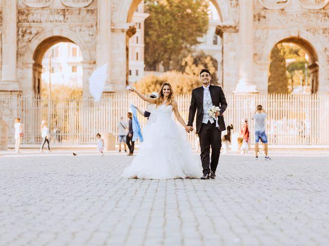 Il matrimonio di Alessio e Pamela a Roma, Roma 30