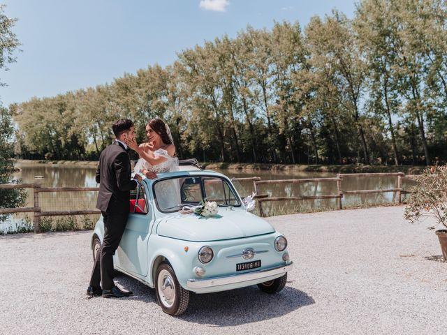 Il matrimonio di Nicola e Jessica a Camposampiero, Padova 44