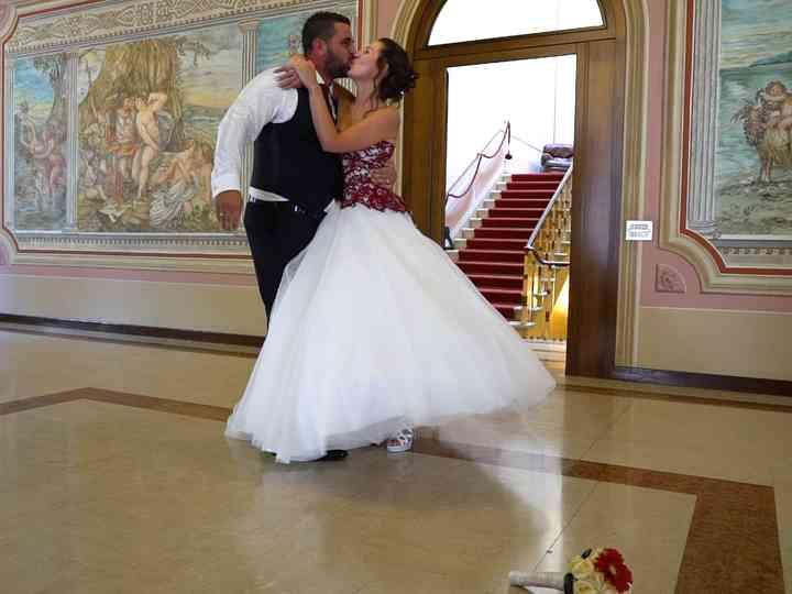 le nozze di Lisa e Andrea