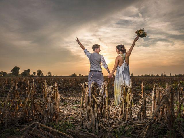 le nozze di Elena e Alessia
