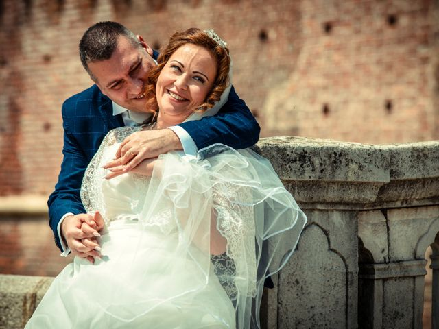 Il matrimonio di Mariano e Piera a Trecate, Novara 32