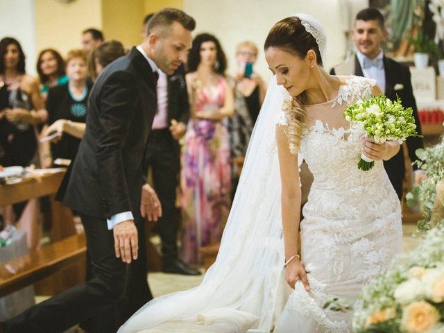 Il matrimonio di Paride e Francesca a Cassino, Frosinone 24