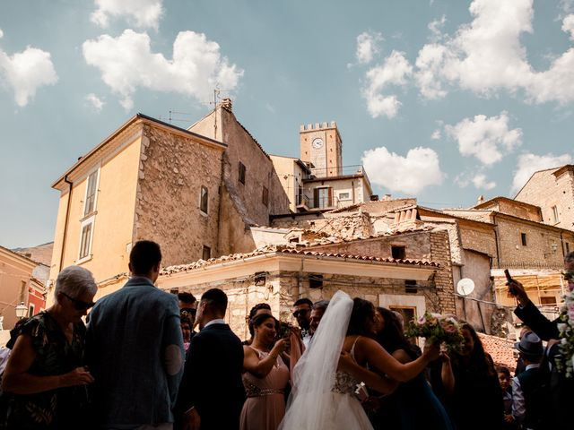 Il matrimonio di Daniele e Mariacristina a Palena, Chieti 21