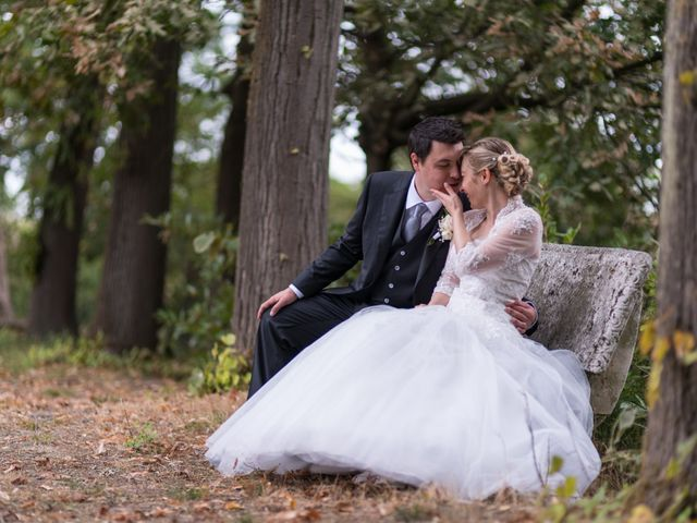 le nozze di Paola e Michele