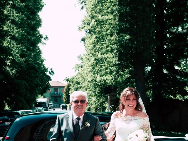 Il matrimonio di Dario e Francesca a Cortemaggiore, Piacenza 14