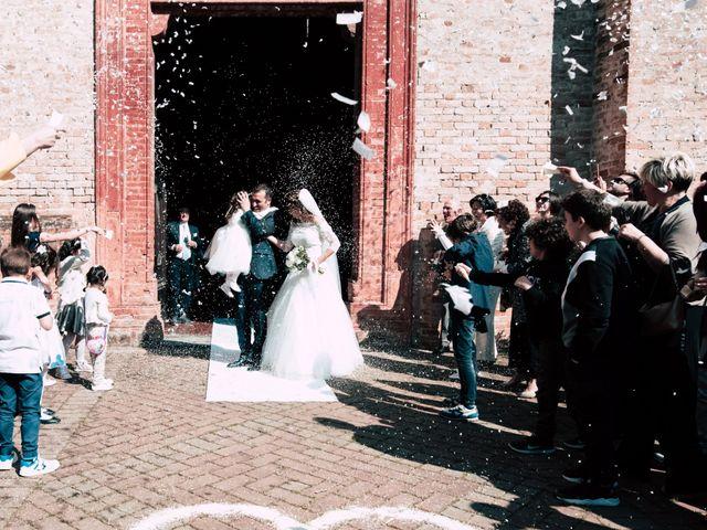 Il matrimonio di Dario e Francesca a Cortemaggiore, Piacenza 19