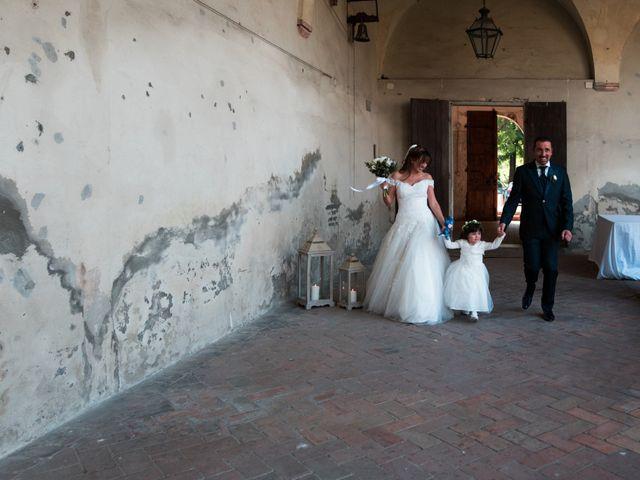 Il matrimonio di Dario e Francesca a Cortemaggiore, Piacenza 32