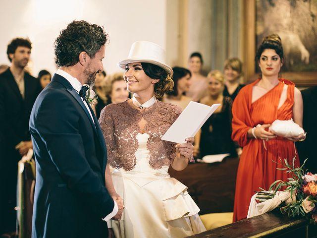 Il matrimonio di Daniele e Marta a Montelupo Fiorentino, Firenze 45