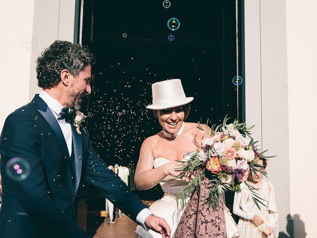 Il matrimonio di Daniele e Marta a Montelupo Fiorentino, Firenze 56