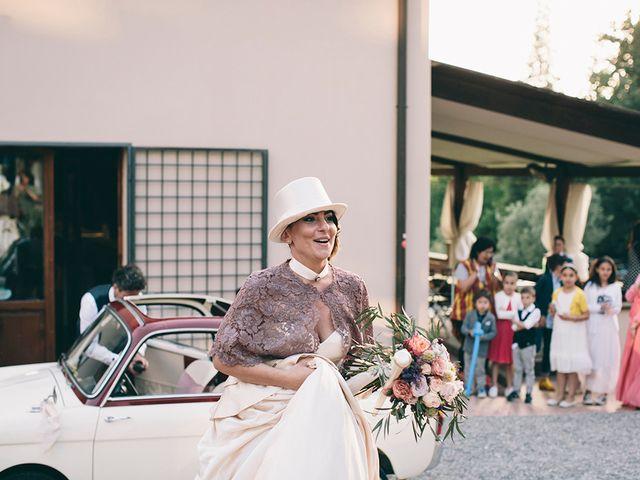 Il matrimonio di Daniele e Marta a Montelupo Fiorentino, Firenze 64