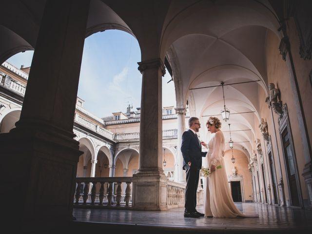 Il matrimonio di Fabrizia e Stefano a Genova, Genova 22