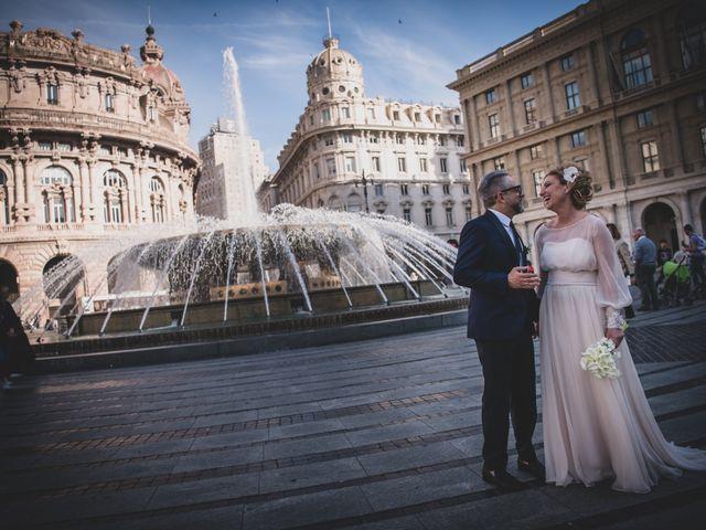 Il matrimonio di Fabrizia e Stefano a Genova, Genova 31