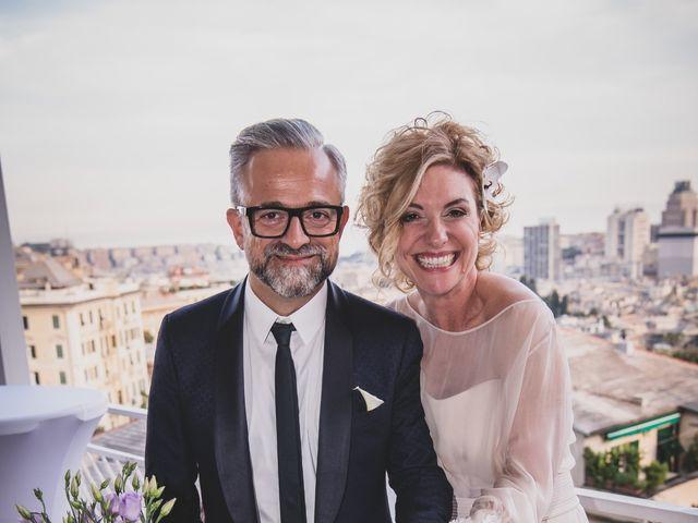 Il matrimonio di Fabrizia e Stefano a Genova, Genova 39