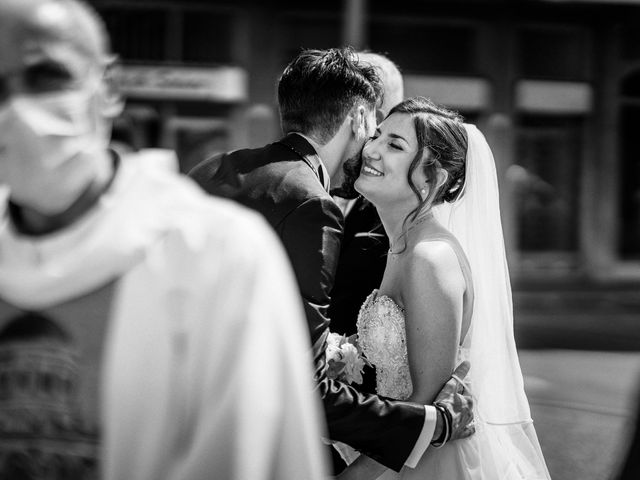 Il matrimonio di Marco e Monica a Bariano, Bergamo 19