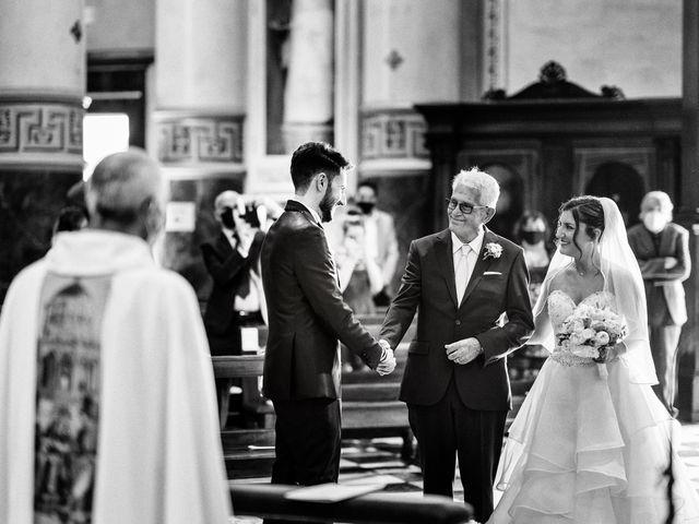 Il matrimonio di Marco e Monica a Bariano, Bergamo 20