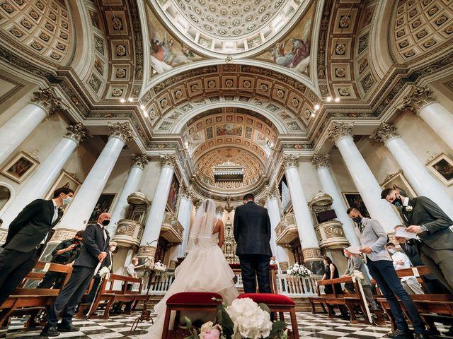 Il matrimonio di Marco e Monica a Bariano, Bergamo 21