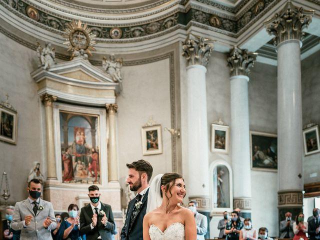 Il matrimonio di Marco e Monica a Bariano, Bergamo 23