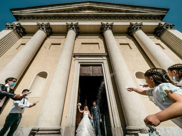 Il matrimonio di Marco e Monica a Bariano, Bergamo 26
