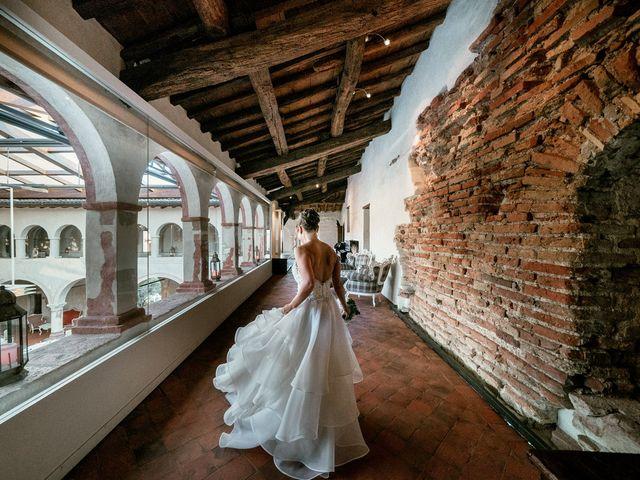 Il matrimonio di Marco e Monica a Bariano, Bergamo 32