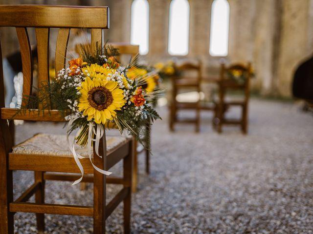 Il matrimonio di Giancarlo e Lorena a Chiusdino, Siena 6