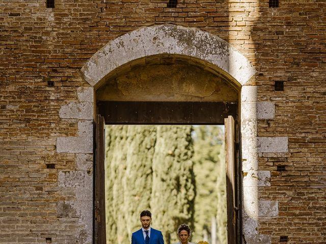 Il matrimonio di Giancarlo e Lorena a Chiusdino, Siena 20