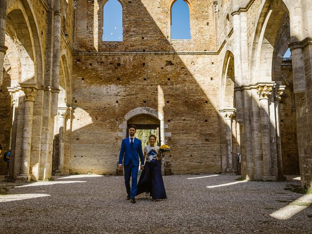 Il matrimonio di Giancarlo e Lorena a Chiusdino, Siena 21