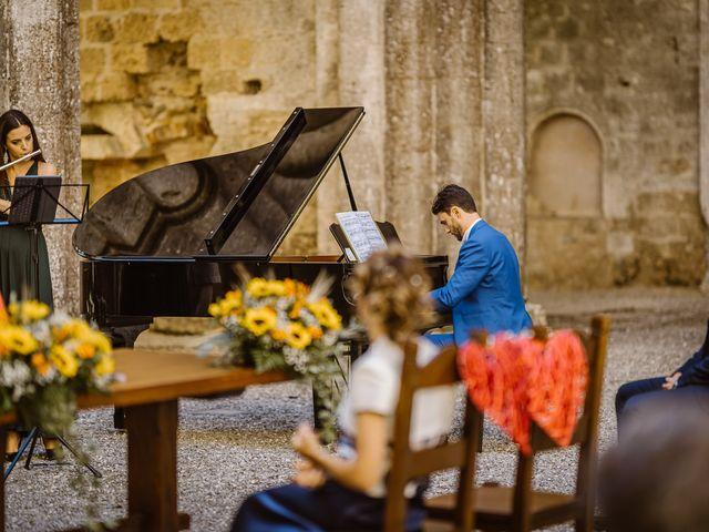 Il matrimonio di Giancarlo e Lorena a Chiusdino, Siena 23