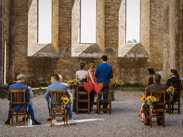 Il matrimonio di Giancarlo e Lorena a Chiusdino, Siena 25