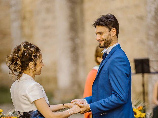 Il matrimonio di Giancarlo e Lorena a Chiusdino, Siena 26