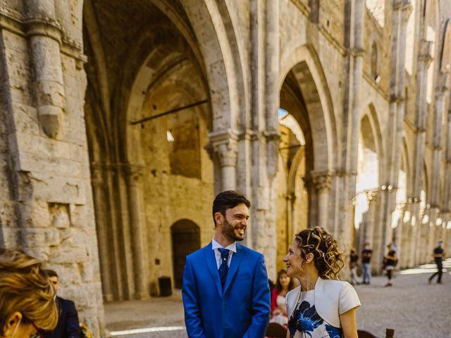 Il matrimonio di Giancarlo e Lorena a Chiusdino, Siena 28