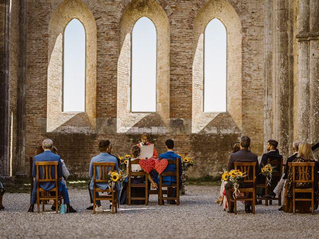 Il matrimonio di Giancarlo e Lorena a Chiusdino, Siena 29
