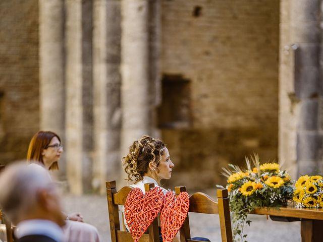 Il matrimonio di Giancarlo e Lorena a Chiusdino, Siena 32
