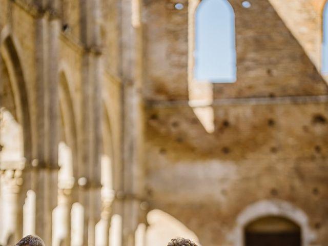 Il matrimonio di Giancarlo e Lorena a Chiusdino, Siena 35