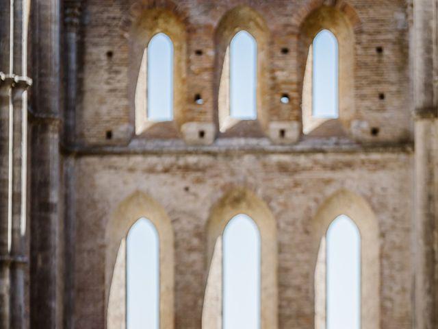 Il matrimonio di Giancarlo e Lorena a Chiusdino, Siena 38