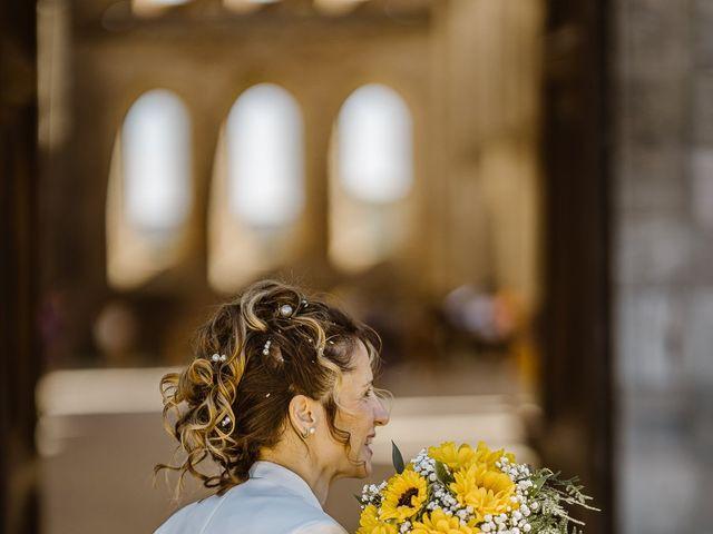 Il matrimonio di Giancarlo e Lorena a Chiusdino, Siena 40