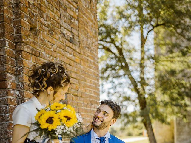 Il matrimonio di Giancarlo e Lorena a Chiusdino, Siena 48