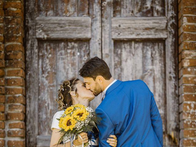 Il matrimonio di Giancarlo e Lorena a Chiusdino, Siena 49