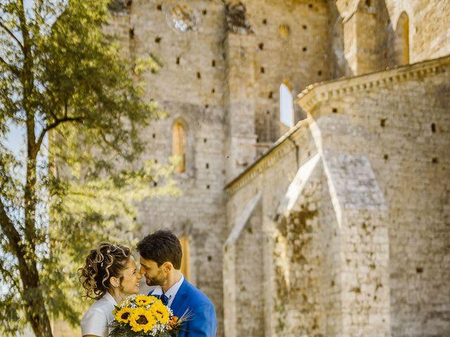 Il matrimonio di Giancarlo e Lorena a Chiusdino, Siena 50