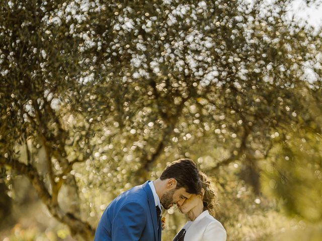 Il matrimonio di Giancarlo e Lorena a Chiusdino, Siena 53
