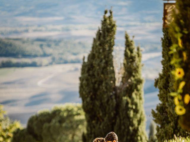 Il matrimonio di Giancarlo e Lorena a Chiusdino, Siena 58