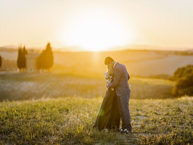 Il matrimonio di Giancarlo e Lorena a Chiusdino, Siena 68
