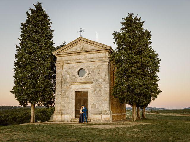 Il matrimonio di Giancarlo e Lorena a Chiusdino, Siena 70