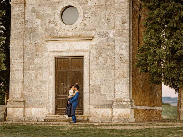 Il matrimonio di Giancarlo e Lorena a Chiusdino, Siena 71