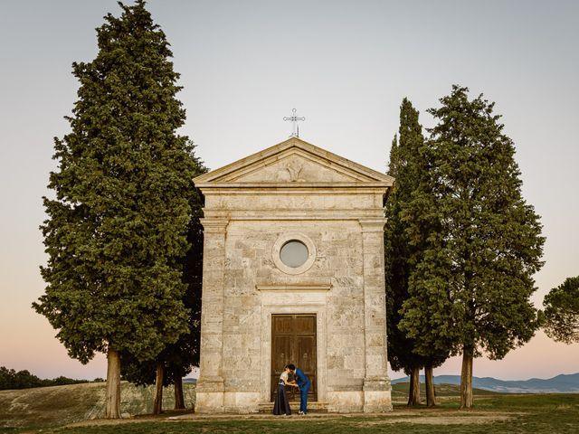 Il matrimonio di Giancarlo e Lorena a Chiusdino, Siena 72