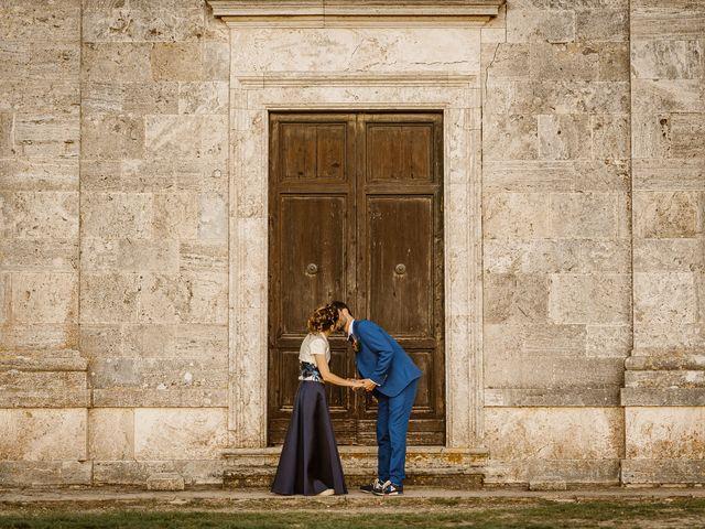 Il matrimonio di Giancarlo e Lorena a Chiusdino, Siena 73