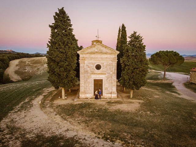 Il matrimonio di Giancarlo e Lorena a Chiusdino, Siena 76